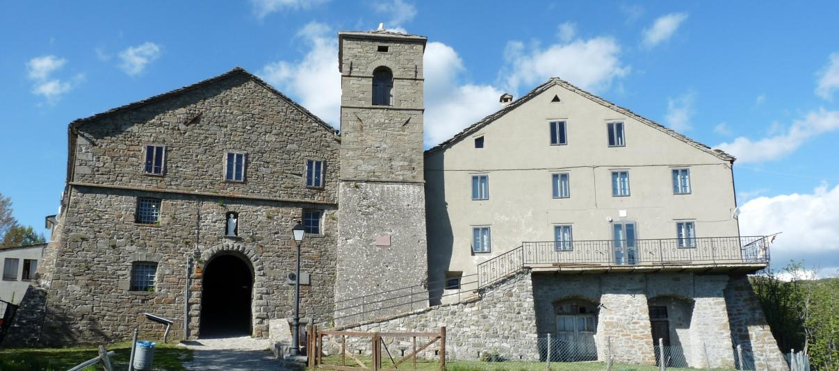 Hospitale and the Sanctuary of San Pellegrino on Alpe